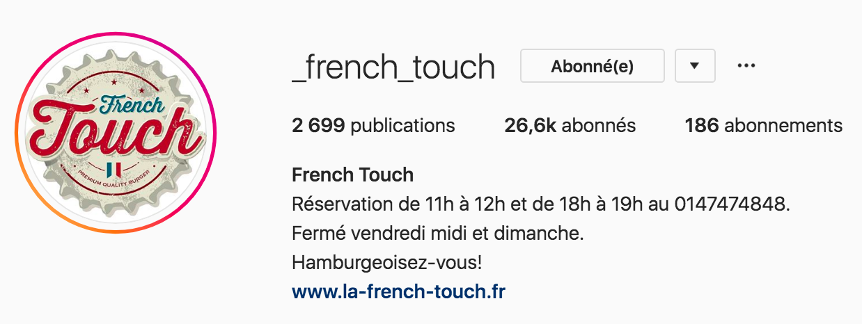 French Touch Pastry