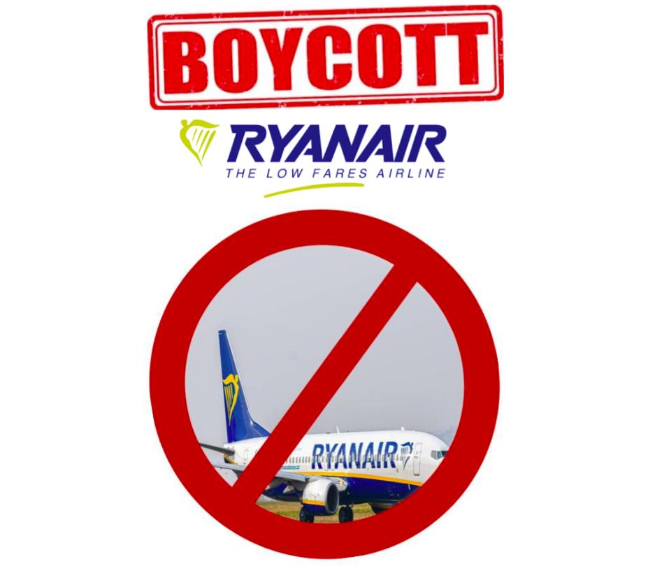 boycott Ryanair